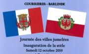 flagi Polski i Francji